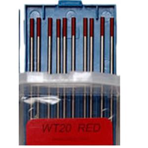elektrody wolfr. czerwone 300x300 - ELEKTRODA WOLFRAMOWA WT20  FI 2,4x175  MM CZERWONA