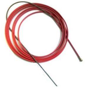 wklad czerwony 300x300 - WKŁAD STALOWY POWLEKANY CZERWONY FI 1,2 DŁUGOŚĆ 3,4 MB