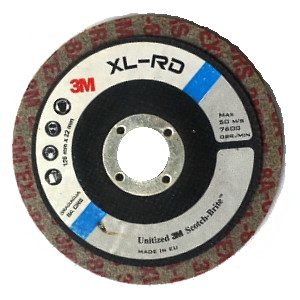 koło xl rd 8crs 300x300 - KOŁO XL-RD 125X6X22  8A CRS   3M