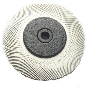 szczotka biała 300x300 - SZCZOTKA CZYSZCZĄCA BB-ZB FI 150MM P120 BIAŁA