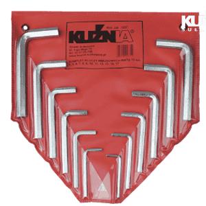 komplet kluczy imbusowych1 300x300 - Komplet kluczy trzpieniowych sześciokątnych RWTg 4-17 (KUŹNIA) /12 sztukowy/