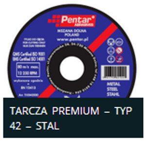 sciernica 4n2 300x300 - Tarcza do cięcia 230x2,5x22 typ 42 Premium (PENTAR)