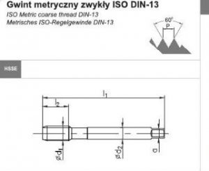 DIN 376 C 31 300x246 - Gwintownik maszynowy DIN-376-C M10 ISO2 (6H) R40 HSSE 800(FANAR)