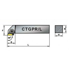 CTGPR 300x300 - NÓŻ TOKARSKI SKŁADANY CTGPR 3232-22  /PAFANA/