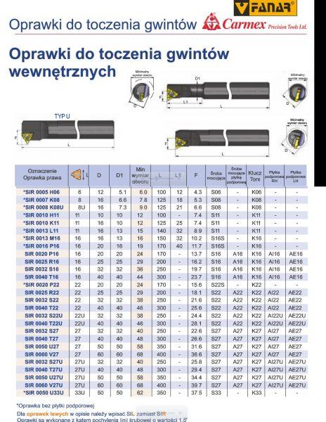 merge from ofoct 9 464x600 - OPRAWKA DO TOCZENIA GWINTÓW WEWNĘTRZNYCH PRAWA SIR 0016 P16B CARMEX /FANAR/