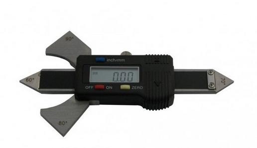 spoinomierz ekektr - SPOINOMIERZ ELEKTRONICZNY MMSs 0-20 mm; 60°,70°,80°,90° KMITEX