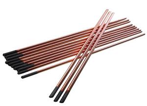elektrody węglowe 1 1 - Elektrody węglowe miedziowane /opak.100szt/
