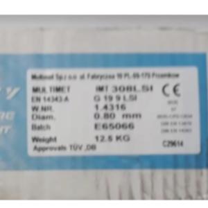 drut multimet 08.125 2 - DRUT SPAWALNICZY NIERDZEWNY 308LSi 0,8mm 12,5kg INOX /MULTIMET/
